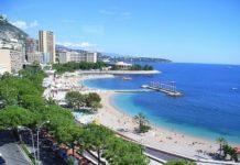 Чистые пляжи Монако