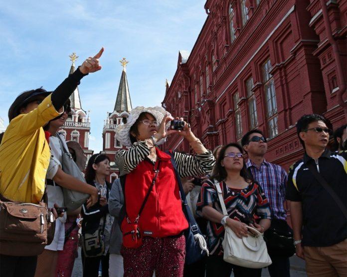 Китайский туристический въездной поток