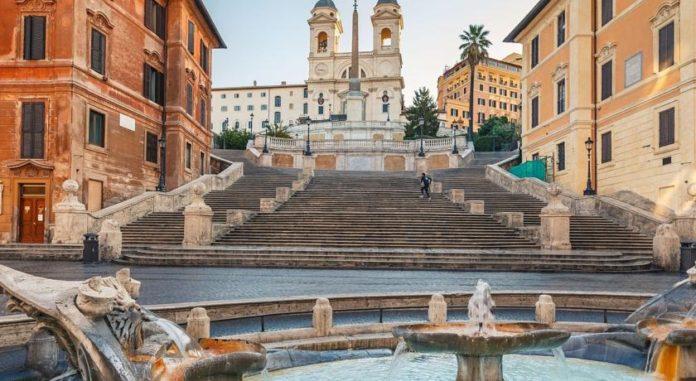 Бутик-отель Eden в Риме встречает дорогих гостей.
