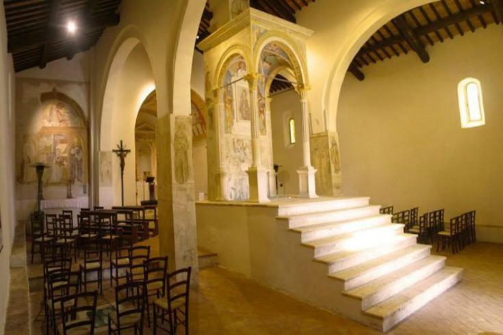 Часовня Санта-Мария-ад-Бальнеа