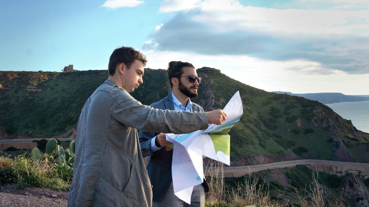 Олег Пигулевский (архитектурная студия Чадо) и итальянский архитектор Джанмарио