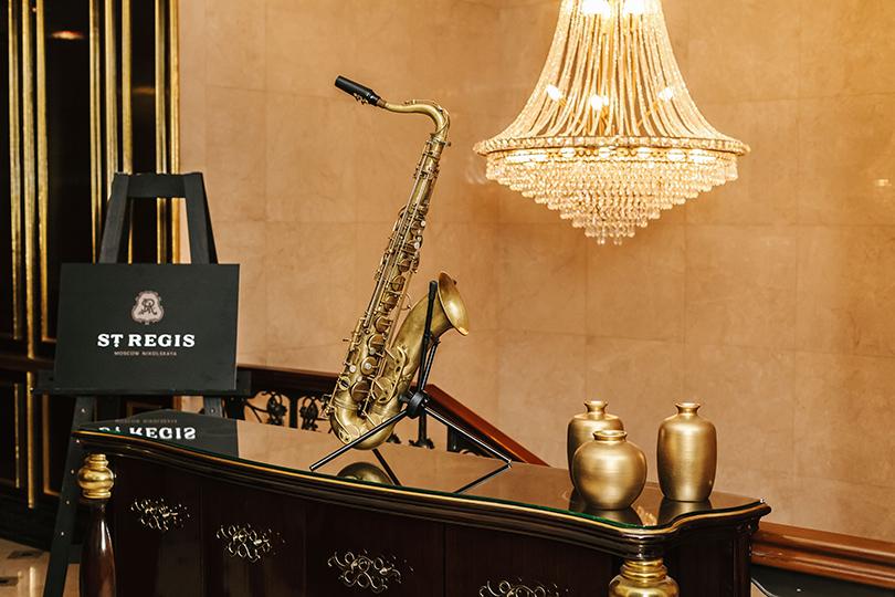 Jazz In Motion в St. Regis Москва