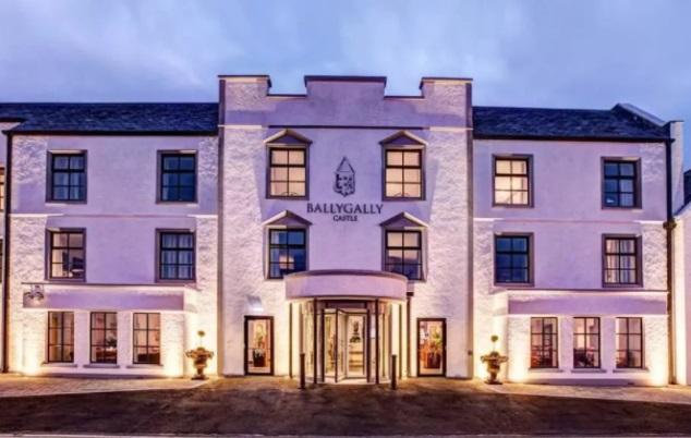 Замок Ballygally, Северная Ирландия