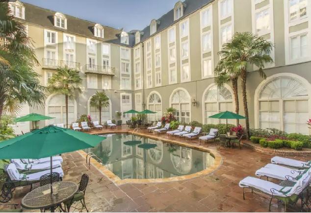 Отель Bourbon Orleans, Новый Орлеан