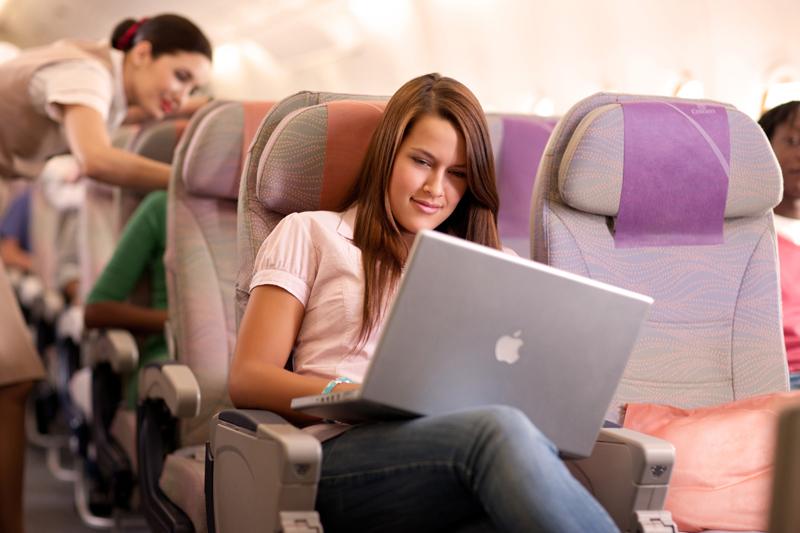 интернет на борту самолета