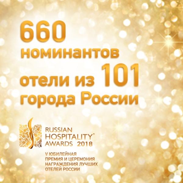 Russian Hospitality Awards 2018