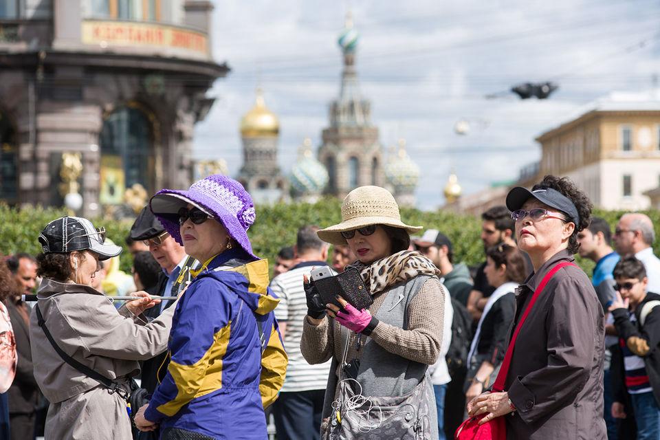 Lượng khách du lịch nước ngoài vào Nga tăng 25%